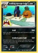 trolling sponge