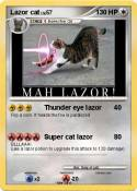 Lazor cat