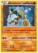 gold bionicle