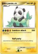 poko panda