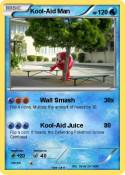 Pok mon kool aid murderer shotgun my pokemon card for Kool aid man coloring pages