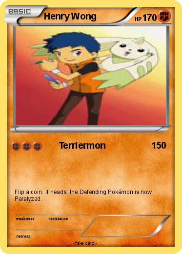 Pokémon Henry Hudson 10 10