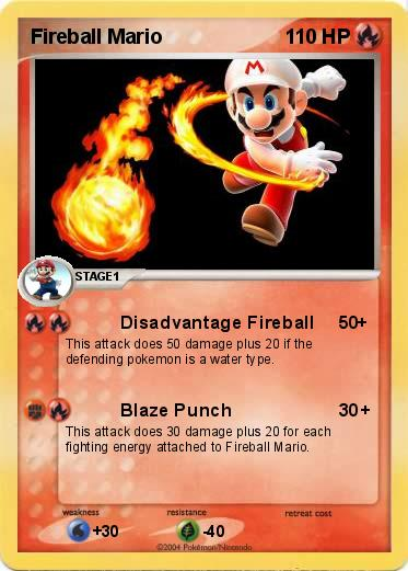 Fireball Mario Pokemon fireball mario