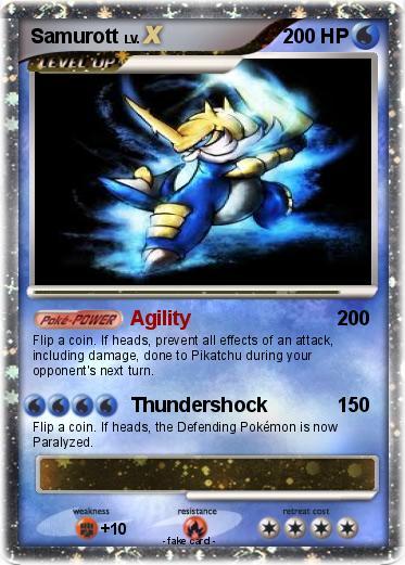 Samurott Pokemon Card Images | Pokemon Images