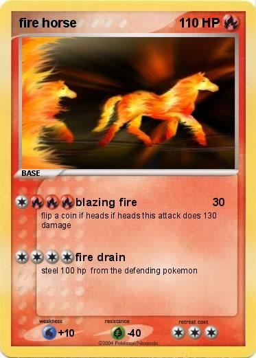Pokemon Fire Horse