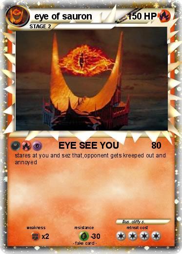 Eye of sauron animated