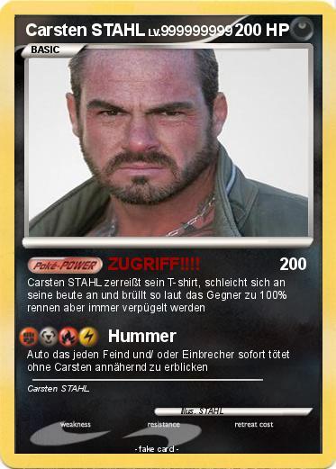 Pokemon Carsten STAHL 5 5