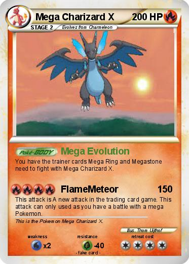 passport name mega charizard x type fire attack 1 mega evolutionEmboar Mega Evolution Card
