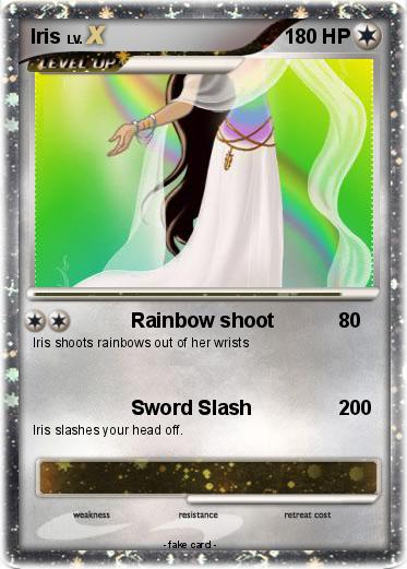 Pokémon Iris 178 178 - Rainbow shoot - My Pokemon Card