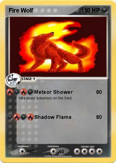 Pok mon Fire Wolf 3 3 Meteor