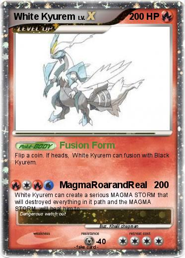 ... white kyurem source http www mypokecard com en gallery pokemon white | 373 x 521 jpeg 45kB