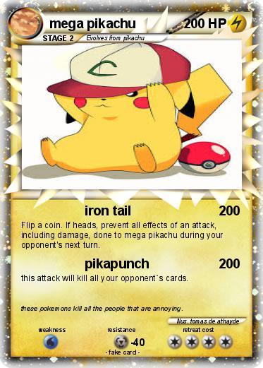Pokemon Mega Pikachu 35