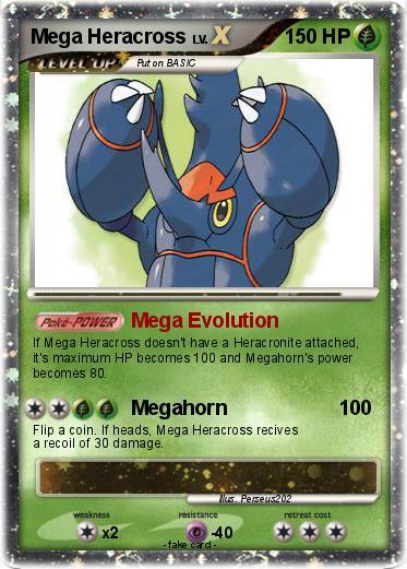 Pokemon Mega Heracross Mega Heracross Card