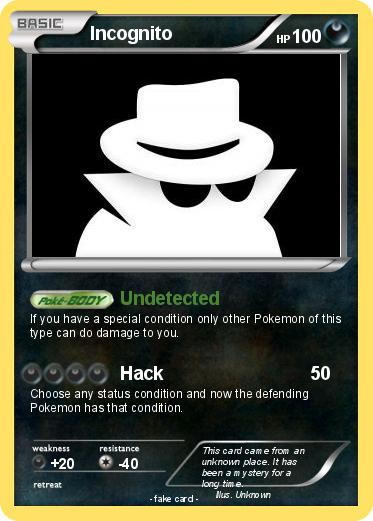 Pokemon Incognito