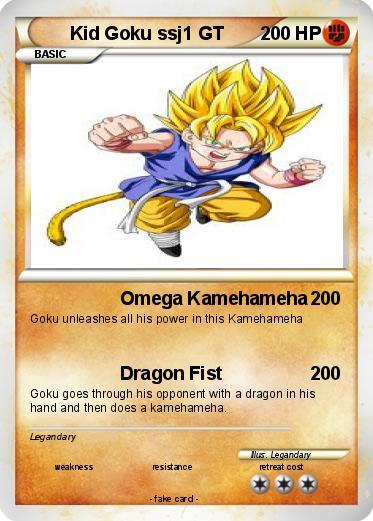 How To Draw Goku Kid Ssj1
