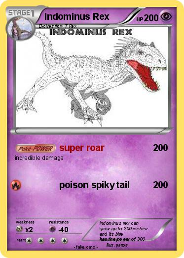 Pokemon Indominus Rex 19