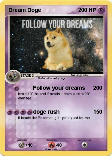 Pokemon Dream Doge