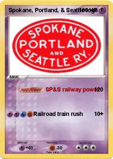 Pokemon Spokane Portland Seattle Logo