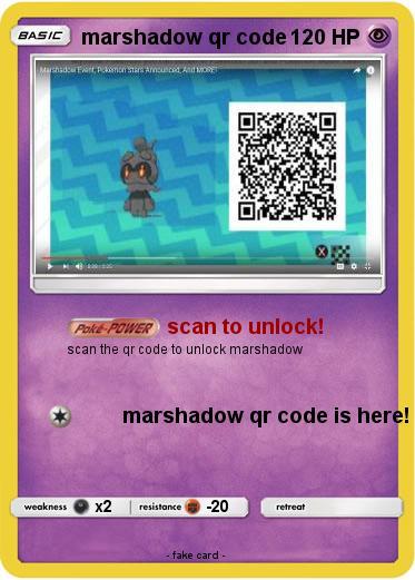 Resultaten: Pokemon Sun And Moon How To Get Marshadow Qr Code
