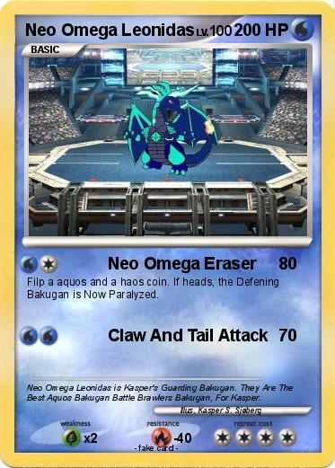 Bakugan Omega Leonidas Ball Form Pokemon neo omega leonidasBakugan Omega Leonidas Ball Form