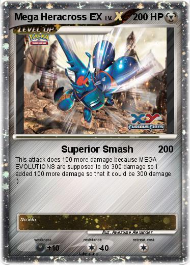Pokémon Mega Heracross EX 1 1 - Superior Smash - My ...