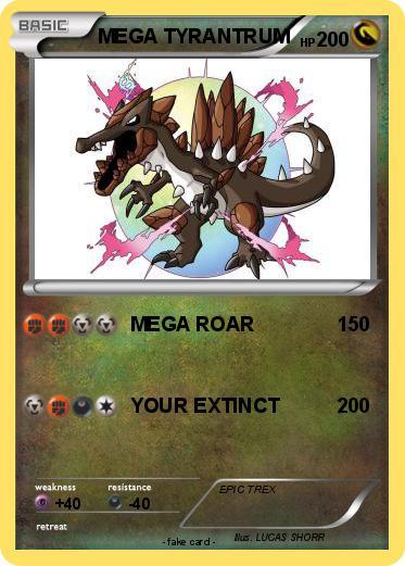 Pokemon Mega Tyrantrum 12
