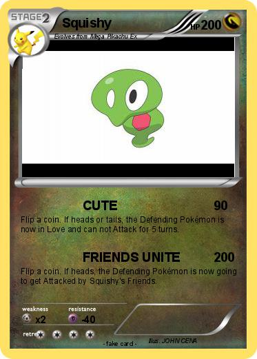 Pokemon Squishy Real Name : Squishy Pokemon Card Xy Images Pokemon Images