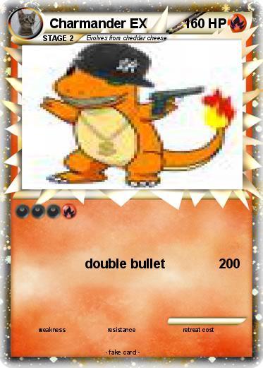pok233mon charmander ex 8 8 double bullet my pokemon card