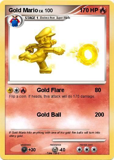 Pokemon Gold Mario 32 32