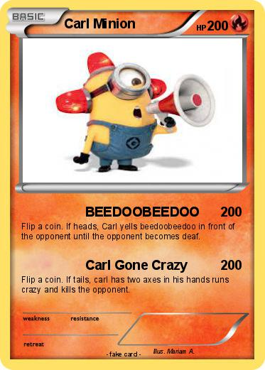 Pokemon Carl Minion