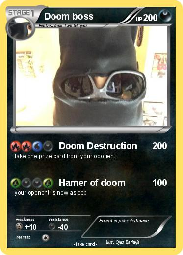 Pokemon Doom boss