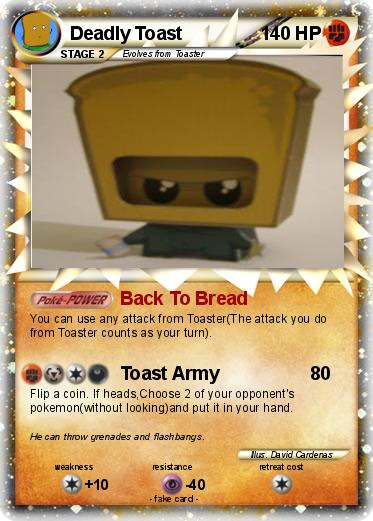 Pokemon Deadly Toast