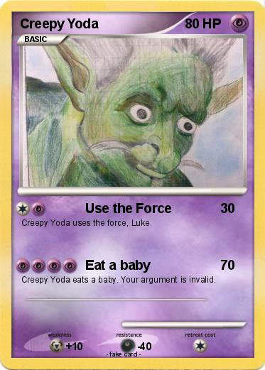 Pokemon Creepy Yoda
