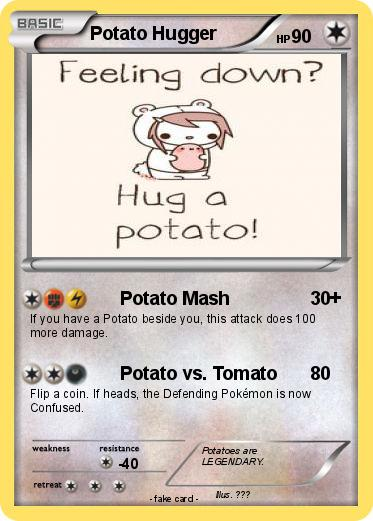Pokemon Potato Hugger