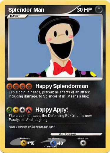 Pokemon Splendor Man