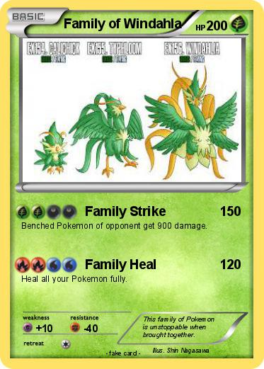 Pokemon Family of Windahla