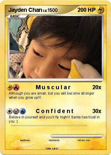 Pokemon Jayden Chan
