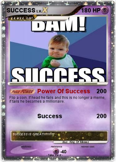 Pokemon SUCCESS