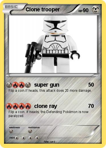 Pokemon Clone trooper