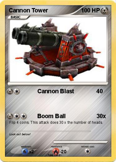 Pokemon Cannon Tower