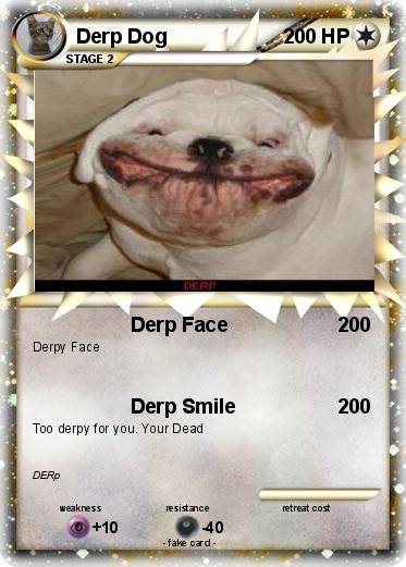 Pokemon Derp Dog