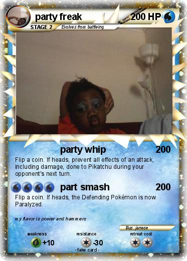 Pokemon party freak