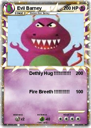 Pokemon Evil Barney