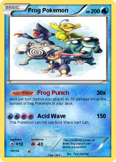 Pokemon Frog Pokemon