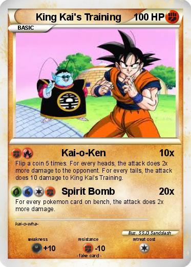 Pokemon King Kai's Training