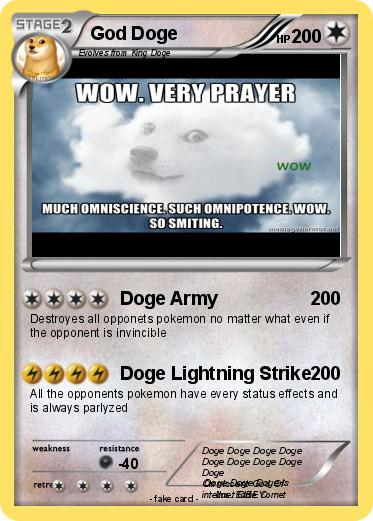 Pokemon God Doge
