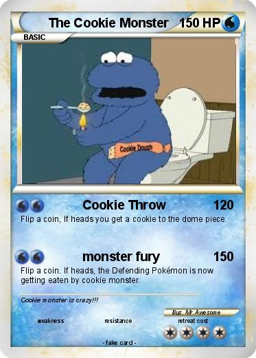 Pokemon The Cookie Monster