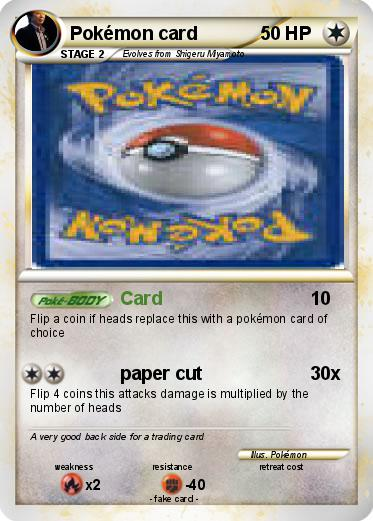 Pokemon Pokémon card