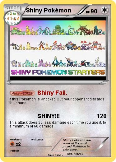 Pokemon Shiny Pokémon