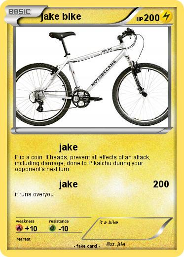 Pokemon jake bike